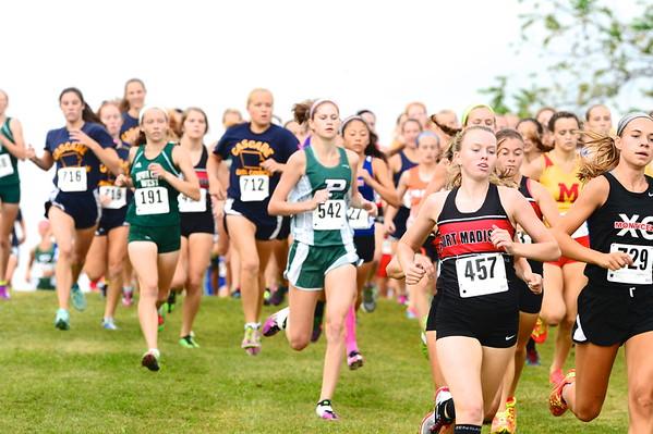 Cross-country High Schools Girls - Fall 2015